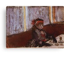 Edgar Degas French Impressionism Oil Painting Girl Eating Canvas Print