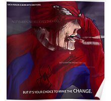 Hero Thoughts: Spider-Man Edition Poster