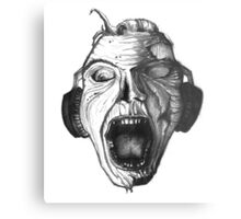 Music for the Undead Metal Print