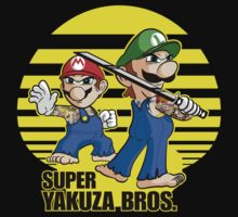 Super Yakuza Bros. by Gingerbredmanny