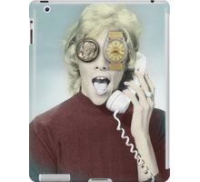 time and money iPad Case/Skin