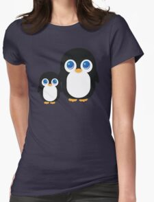 Penguin T Shirt Womens Fitted T-Shirt