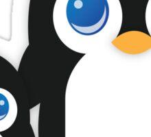 Penguin T Shirt Sticker