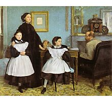 Edgar Degas French Impressionism Oil Painting Family Photographic Print