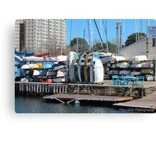 Row Row Row your Boat Canvas Print
