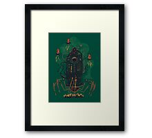 Not with a whimper but with a bang Framed Print