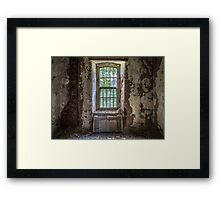 ...decayed memories... Framed Print
