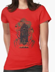 Not with a whimper but with a bang Womens Fitted T-Shirt