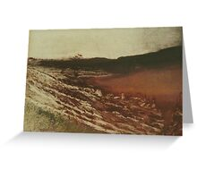 Edgar Degas French Impressionism Oil Painting Landscape Greeting Card