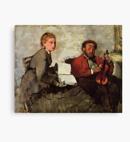 Edgar Degas French Impressionism Oil Painting Violin Canvas Print