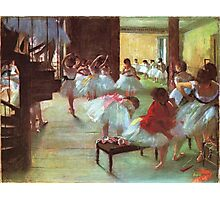 Edgar Degas French Impressionism Oil Painting Dance School Photographic Print