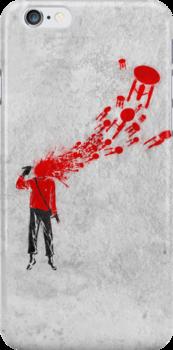 Trekkies in the Attic (spray version) by Vincent Carrozza