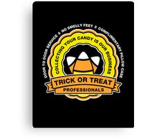 Trick or Treat Service Canvas Print