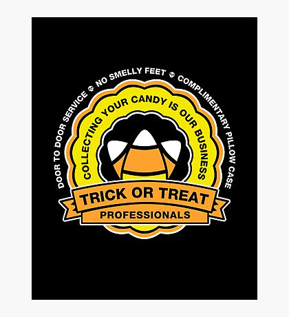 Trick or Treat Service Photographic Print