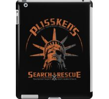 Snake Plissken's  Search & Rescue Pty Ltd iPad Case/Skin
