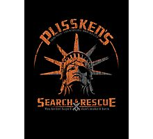 Snake Plissken's  Search & Rescue Pty Ltd Photographic Print