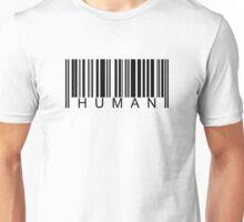 Human Barcode Unisex T-Shirt