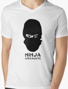 Ninja Graduate Mens V-Neck T-Shirt