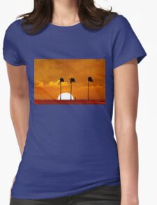6:17 PM Hawaii Time Womens Fitted T-Shirt