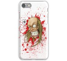 Hevy Devy Strapping Young Lad: White iPhone Case/Skin