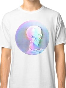 Vaporwave Skull Classic T-Shirt