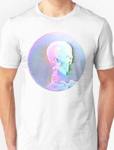 Vaporwave Skull Unisex T-Shirt