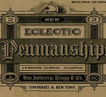 The New Eclectic Penmanship Primer, 1883 by designobserver