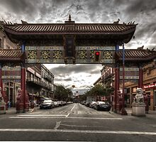 China town Victoria by Eti Reid