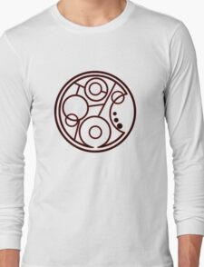 Geronimo Circular Gallifreyan Long Sleeve T-Shirt