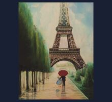 At the Eiffel Tower One Piece - Long Sleeve