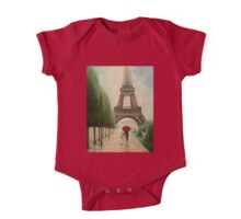 At the Eiffel Tower One Piece - Short Sleeve