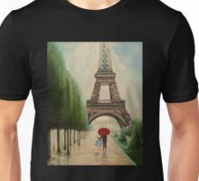 At the Eiffel Tower Unisex T-Shirt