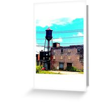 Watertower Upstate NY Greeting Card