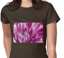Somewhere Between Breathing In And Breathing Out Womens Fitted T-Shirt