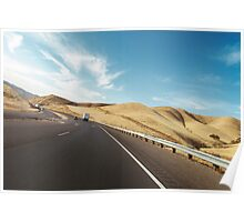 American Highway Driving Poster