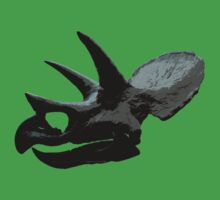 Triceratops by Del Parrish