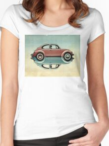 love bug Women's Fitted Scoop T-Shirt