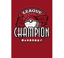 Pokemon League Champion Photographic Print