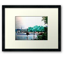 Just Off Bear Creek Framed Print