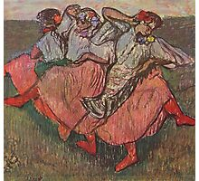 Edgar Degas French Impressionism Oil Painting Women Dancing Photographic Print