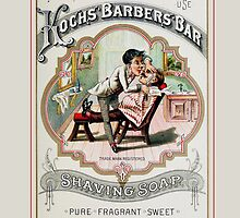 Vintage Barber Shop Advertisement by marceejean