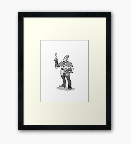 The Sheriff Framed Print