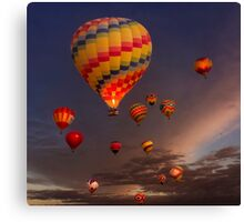 Farewell Mass Ascension Canvas Print