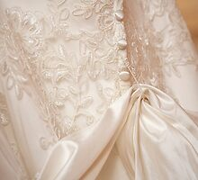 Wedding Dress Detail by Valerie Rosen