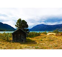 Tiniest Cabin in Carcross  Photographic Print