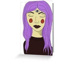 Third Eye Greeting Card