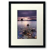 Stalker Sunset Framed Print