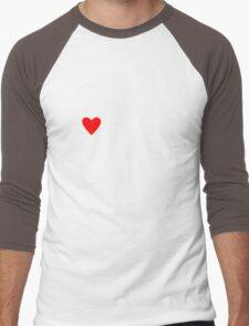 I <3 Tofu Men's Baseball ¾ T-Shirt