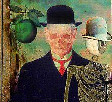 Ceci n'est pas une pomme Monsieur Bone by ganechJoe