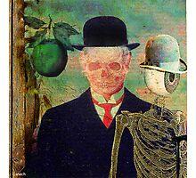 Ceci n'est pas une pomme Monsieur Bone Photographic Print